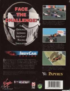 IndyCar Racing + Manual PC CD car race simulation game