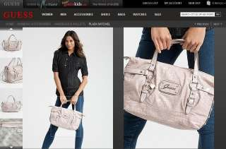 GUESS Plaza Croco Patent Bag Purse Wallet Wristlet New