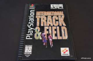 International Track & Field PS1 MINT from collector 083717170105