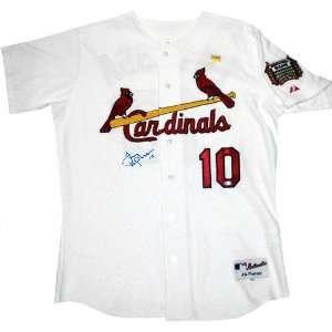 Tony LaRussa St. Louis Cardinals Autographed Jersey