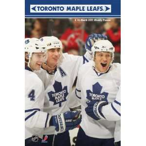 Toronto Maple Leafs 2011 Weekly Planner (9781438806525