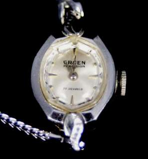 Vintage Ladies GRUEN 10K R.G.P. Bezel 17 Jewel Watch