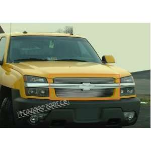 04 05 06 Chevy Avalanche 2PC Upper Billet Grille (With body cladding