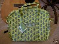 Vera Bradley Retired CITRUS Laptop Case METRO Bag   NWT