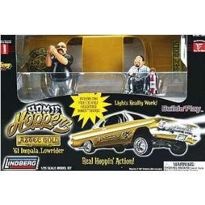 Lindberg 61 Impala Lowrider 1/25 scale kit Toys & Games