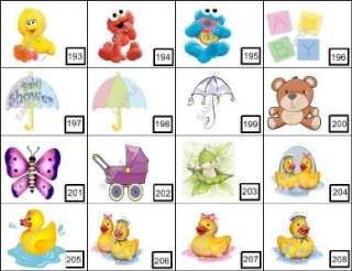 10 BABY SHOWER PERSONALIZED NOTEPAD FAVOR 200+DESIGNS