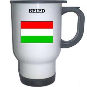 Hungary   BELED White Stainless Steel Mug: Everything