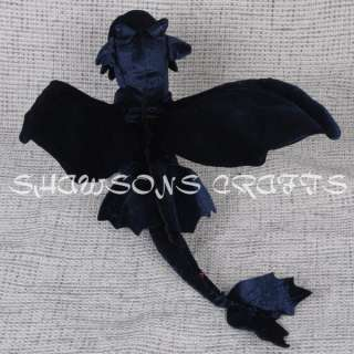 TO TRAIN YOUR DRAGON PLUSH STUFFED TOY 20 TOOTHLESS NIGHT FURY