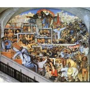 FRAMED oil paintings   Diego Rivera   24 x 20 inches   The
