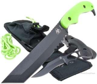 Ka Bar Zombie Killer Famine Tanto Combat/Fighting Knife + Bonus Knife