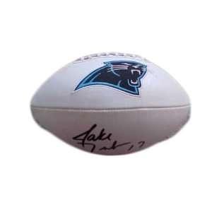 Jake Delhomme Autographed Full Size Carolina Panthers NFL Football