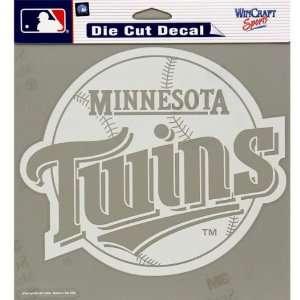 Minnesota Twins   Logo Cut Out Decal MLB Pro Baseball Automotive