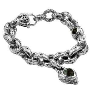 Womens Sterling Silver London Blue Charm Bracelet Scott Kay Jewelry