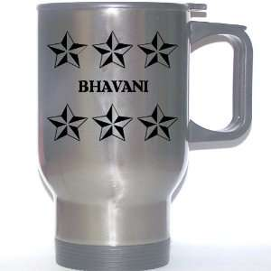Personal Name Gift   BHAVANI Stainless Steel Mug (black