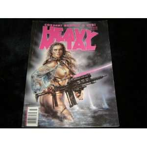 Heavy Metal Fantasy Magazine March 1994 Cover by Royo Books