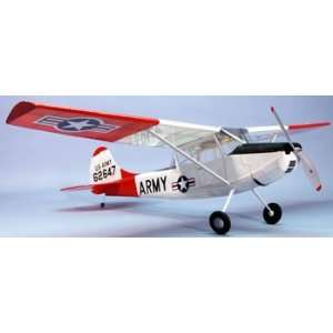 Dumas L 19 Bird Dog RC Airplane: Toys & Games