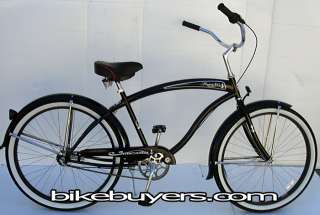 MICARGI ROVER 26 3 SPEED beach cruiser bicycle MEN MBK