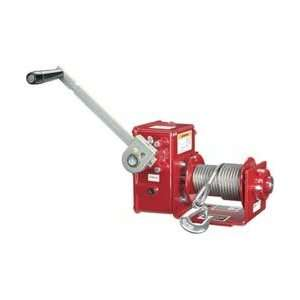 Thern 2000 Lb W/brake Worm Gear Hand Winch Home