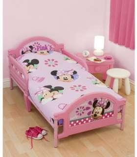 Pretty 4pc Bundle Rotary Junior Cot Bed Duvet Quilt Doona Cover Set