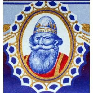 Viking King! Grande Fine St. Jerome (Wine) Label, 1930s