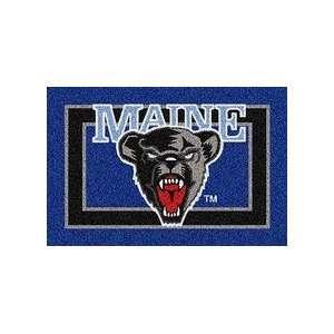 Maine Black Bears Bear Face 4 x 6 Team Door Mat