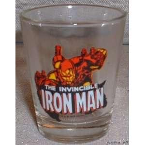 Marvel Comics IRON MAN Shot Glass Character Everything