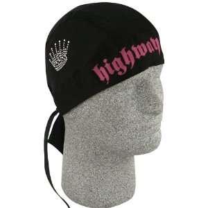 FLYDANNA H/H BLACK CROWN   ZAN HEADGEAR/BOBSTER   ZHH10