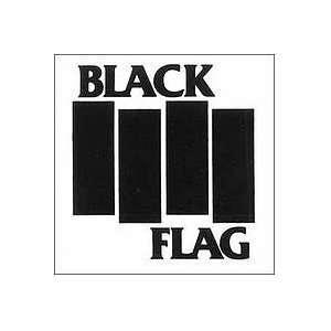 BLACK FLAG BAND LOGO #1   5 SILVER   Vinyl Decal Sticker