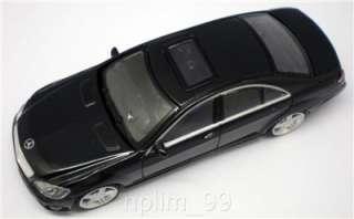 RASTAR 1/43 Diecast Car MERCEDES BENZ S63 AMG Black NEW