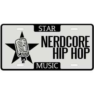 New  I Am A Nerdcore Hip Hop Star   License Plate Music
