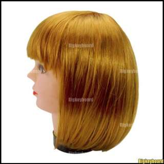 New BOB Short Ladies Womens Wig Fancy Dress Cosplay Party