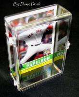 100 Count Trading Card Plastic Storage HINGED Box (1)