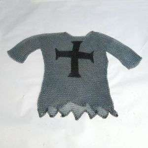 Templar Chain Mail Shirt ~ Chainmail Armor ~ Medieval Knight