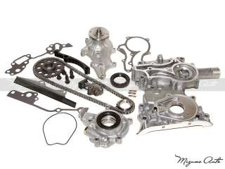 85 95 2.4L Toyota 22R 22RE Heavy Duty Timing Chain Cover Kit Oil Water