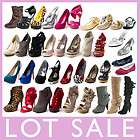 WHOLESALE LOT WOMENS SHOES HIGH HEEL PLATFORM WEDGE PUM