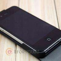 Leather Pouch Flip Case Cover for Apple iphone 4 S 4S 4th Generation