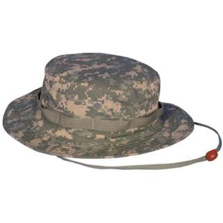 ACU ARMY DIGITAL CAMOUFLAGE BUSH BOONIE HAT   Vietnam Era Hot Weather