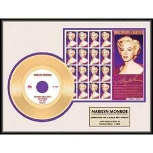 NEW Marilyn Monroe Diamonds Stamps Gold Record Album