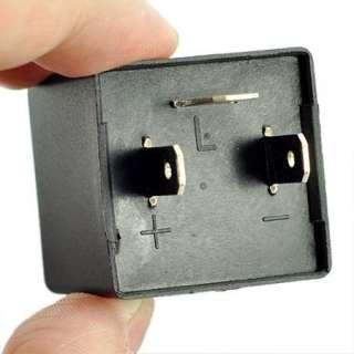 Auto Truck 12V 20A AMP Flasher Relay to Fix LED Light Blink Flash 3Pin
