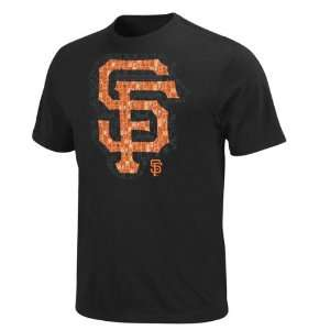 San Francisco Giants Black Circle Zone T Shirt  Sports