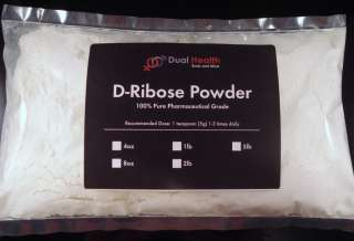 oz D Ribose Powder (226.8g) Muscle Energy Sport Endurance Recovery