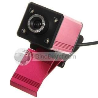 Mega Pixels USB 2.0 Red Bird USB Webcam Web Camera   DinoDirect