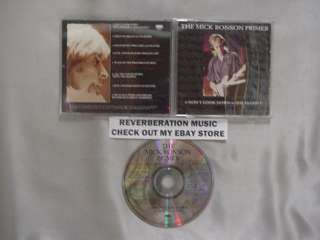 The MICK RONSON Primer 8 tk Promo CD CLASSIC ROCK HITS!