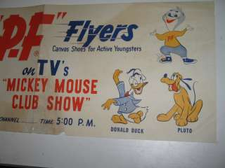 DISNEY 1950s MICKEY MOUSE CLUB TV show (15 items) PF Flyer store