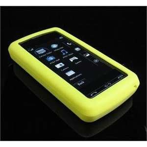 YELLOW FULL VIEW Silicone Skin Cover Case w/ Screen Protector for LG