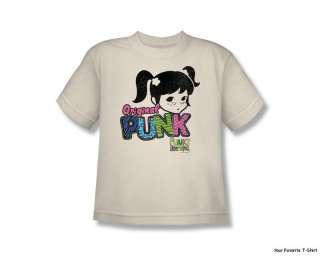 Licensed NBC Punky Brewster Punk Gear Youth Shirt S XL