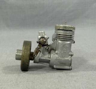 1970 ITALIAN SUPER TIGRE G 20 DIESEL ENGINE AIRPLANE AIRCRAFT MODEL