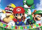 Super MARIO BROTHERS Edible CAKE Image Icing Topper