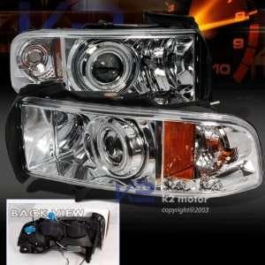 1998 1999 2000 2001 Dodge Ram Ccfl Halo Projector Headlights 97 98 99