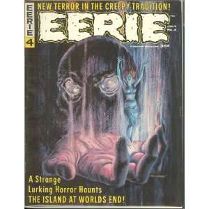 Eeerie Magazine #4 Gray Morrow Cover James Warren Books